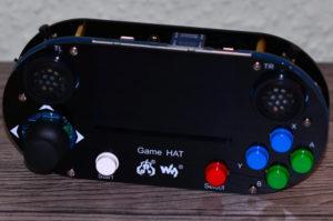 Waveshare Game HAT Handheld fertig